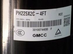 原装东芝压缩机1.5P ph225x2c-4ft 压缩机制冷格力空调