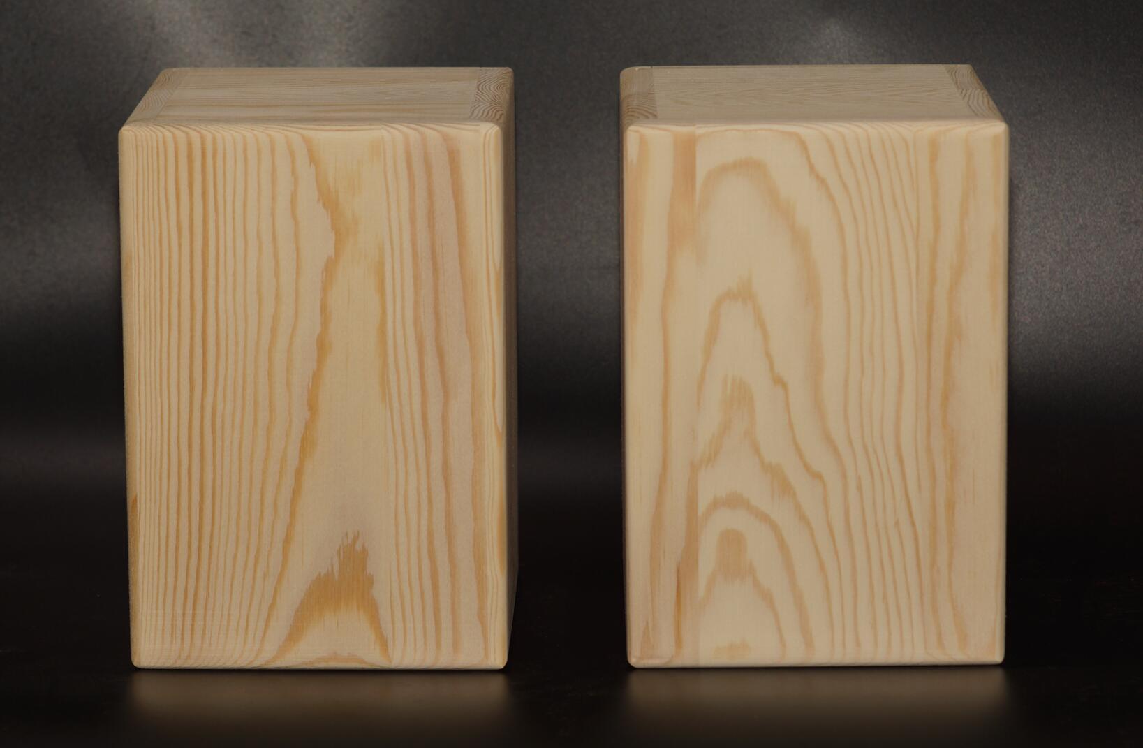 55 юаней на бесплатная доставка 3 дюймовый 4 дюймовый дерево динамик пустой тело волосы эмбрионы закрыты отверстие 1.2cm толстый