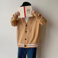 秋冬港风针织情侣开衫新款外套男韩版男士休闲毛衣 M602-P65