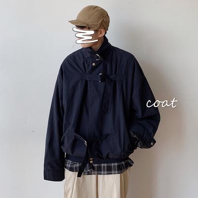 复古短款棒球服秋季帅气衣服阿美卡叽飞行员夹克衫 JK904-P85