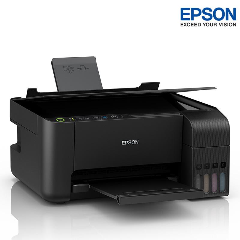 爱普生(EPSON) L3158 手机 无线WIFI 彩色 原装墨仓式 多功能一体机 L405 升级版本  打印 复印 扫描 三合一