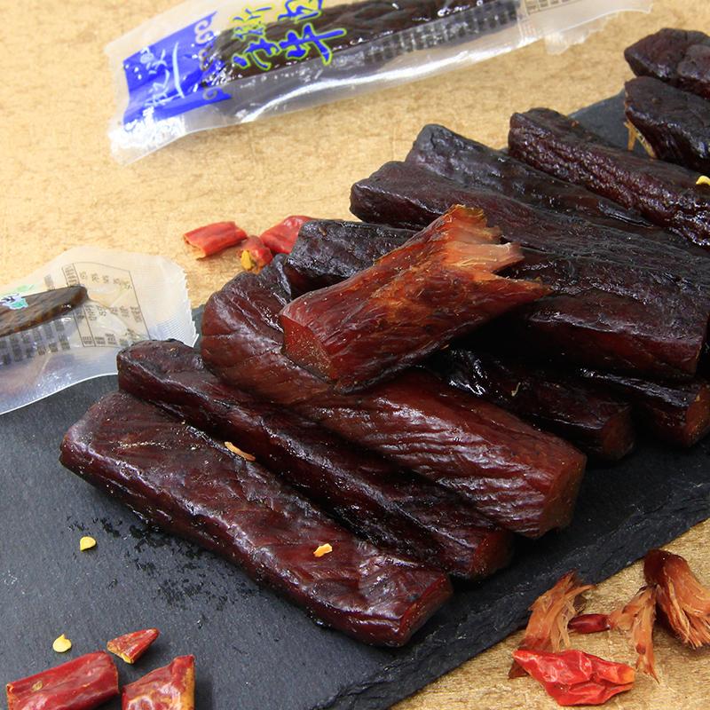 内蒙古特产新鲜正宗牛肉干手撕风干牛肉干牛肉片独立真空包装包邮