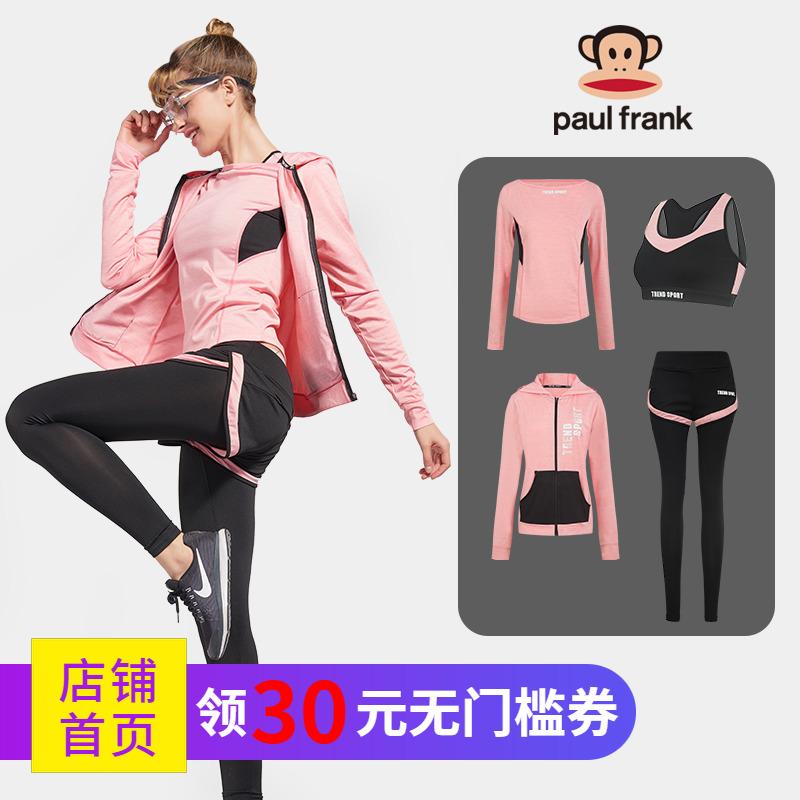 大嘴猴瑜伽套装女运动初学者宽松时尚跑步速干网红夏健身服瑜伽服