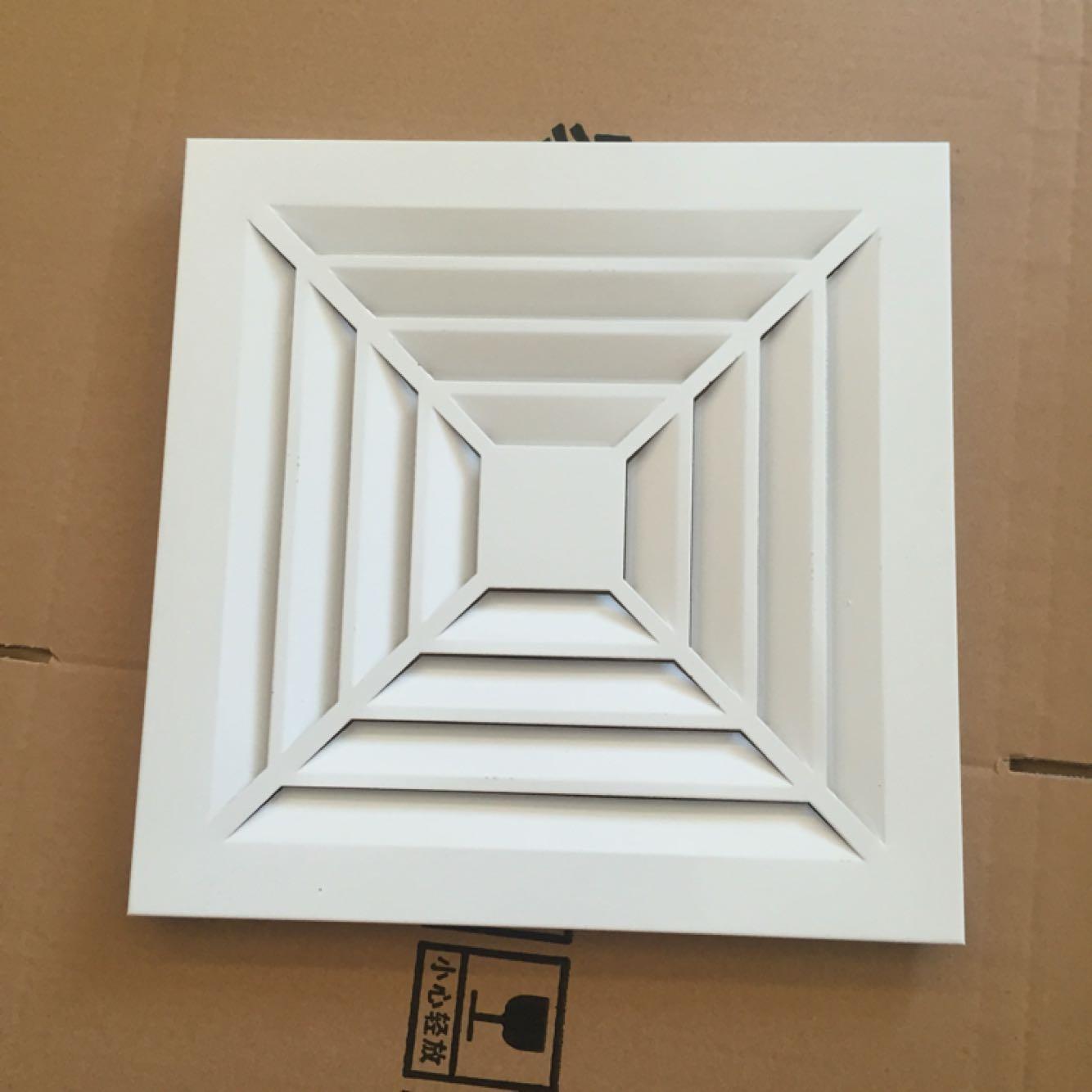 中央空调出风口面板600x600集成吊顶换气通风铝扣板吊顶专用面罩