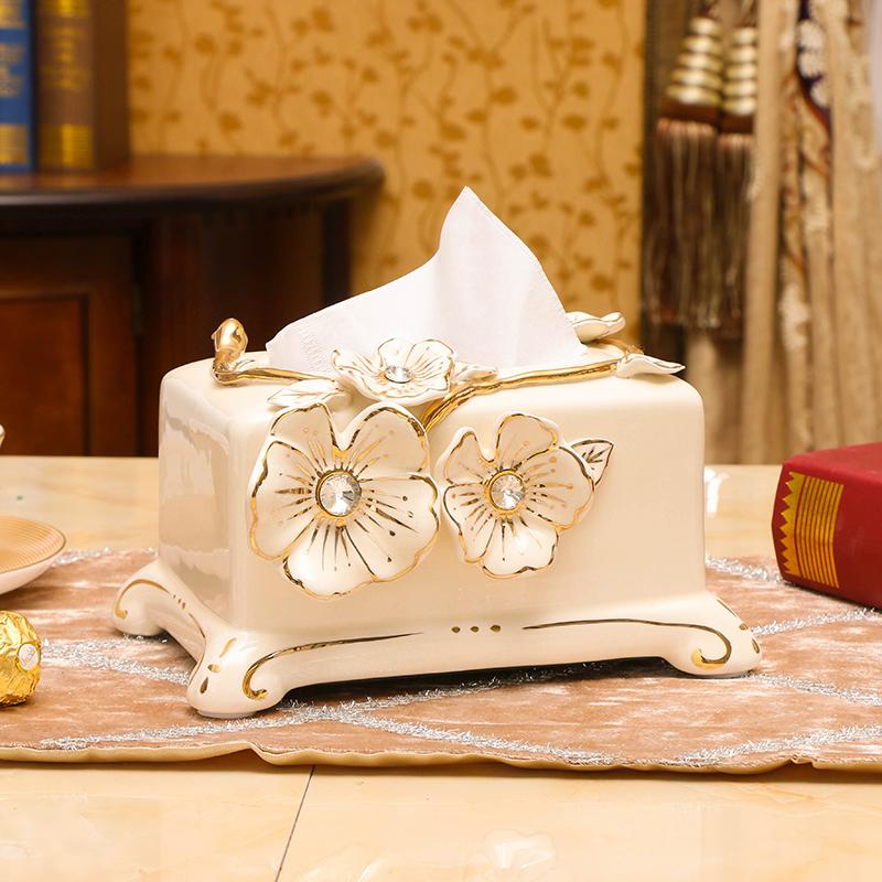 Континентальный керамика ткань гостиная кофейный столик насосные украшение домой творческий ретро рабочий стол декоративный статья роскошный подарок