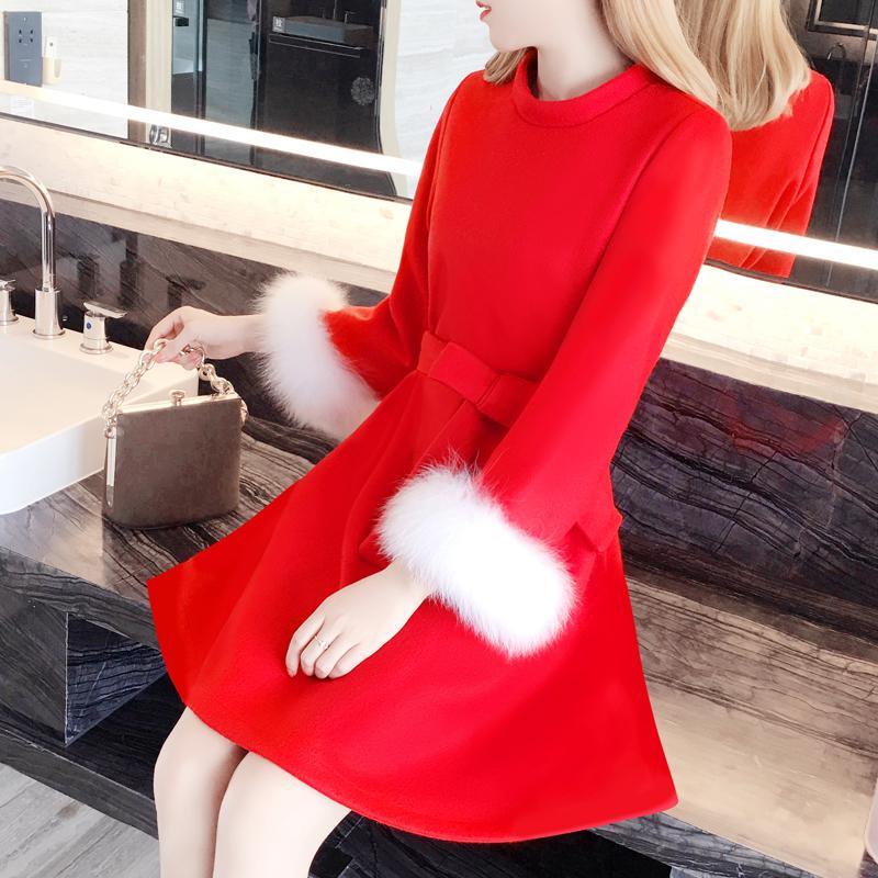结婚礼服红色