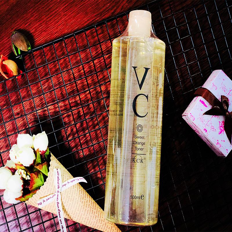 泰国正品KCK大瓶化妆水VC水维C爽肤水甜橙补水保湿500ml 收缩毛孔
