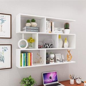 墙上置物架酒架创意壁挂墙架餐厅吊柜客厅墙体柜现代简约墙柜书架