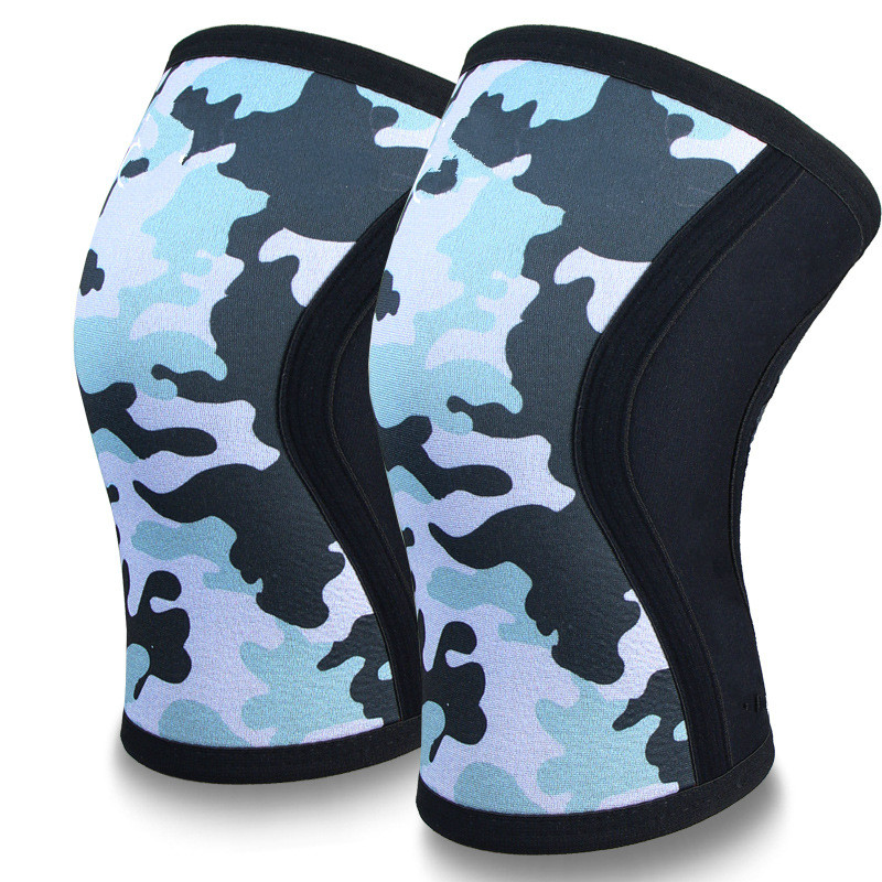 Outdoor custom made 7mm neoprene schweider Hercules thickened diving material exercise fitness weight lifting squat kneepad