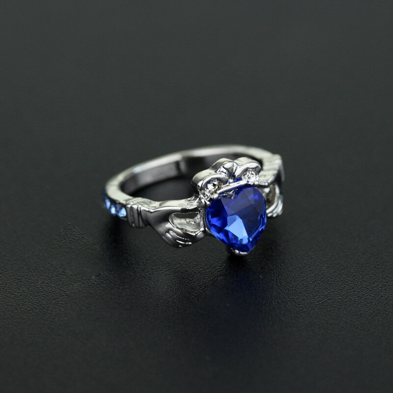 Purchasing cos noble quality gemstone ring accessories cosplay