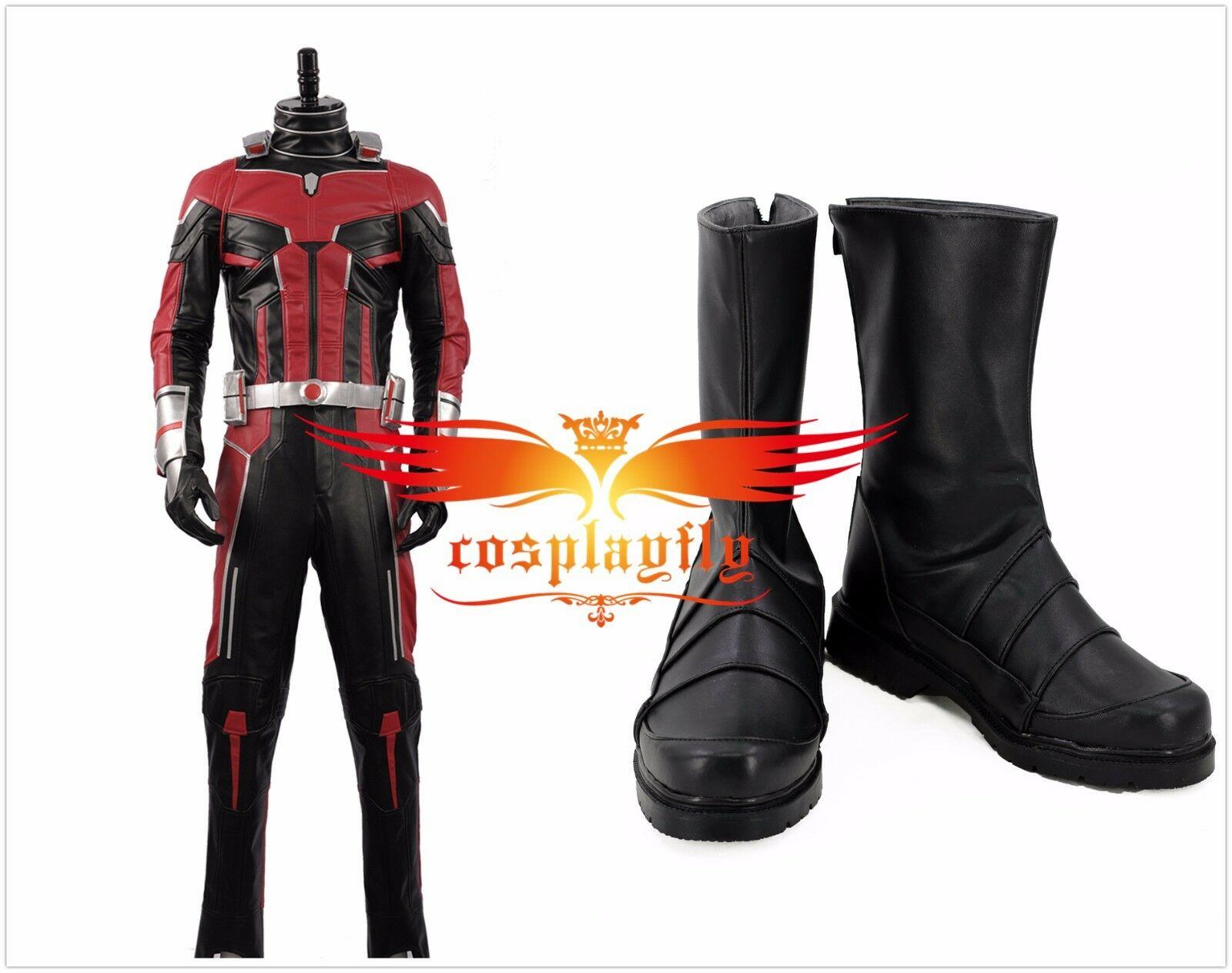代购蚁人2黄蜂女现身蚁人斯科特朗Cosplay服装鞋定制大小
