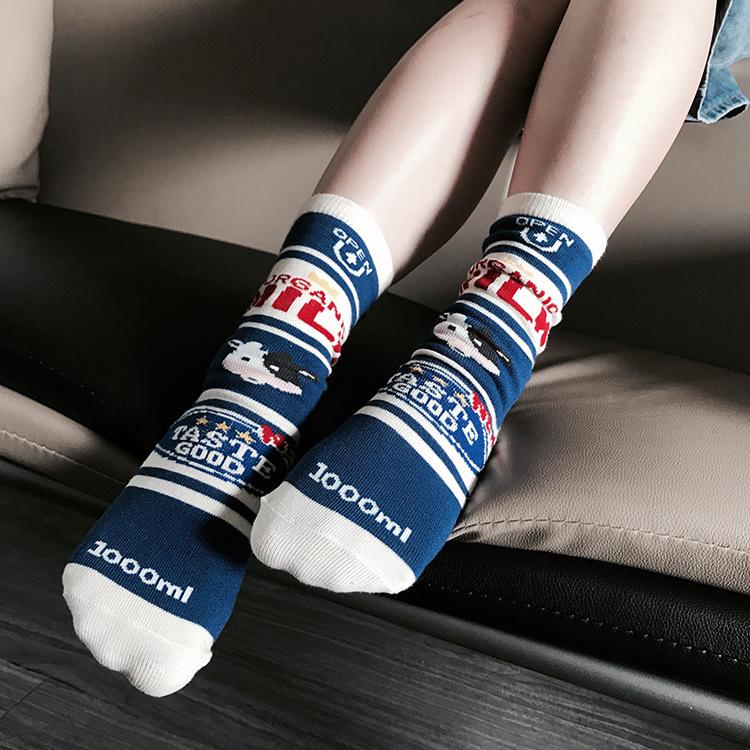 11月29日最新优惠哇塞日系薄款纯棉韩国韩版中筒袜