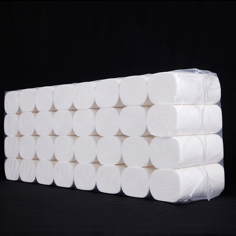 10 jin toilet paper wholesale package full box household special promotion package large roll toilet paper