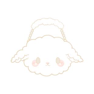 【浮光花園】 原創正版羊仔仔lolita包雙肩包玩偶毛絨包 現貨