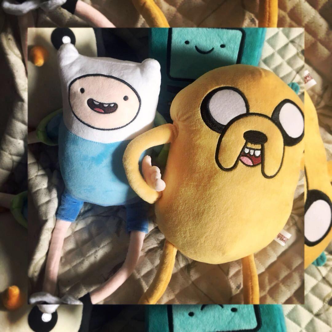 Adventure time adventure toy Finn Jack gift adventure time Plush Doll