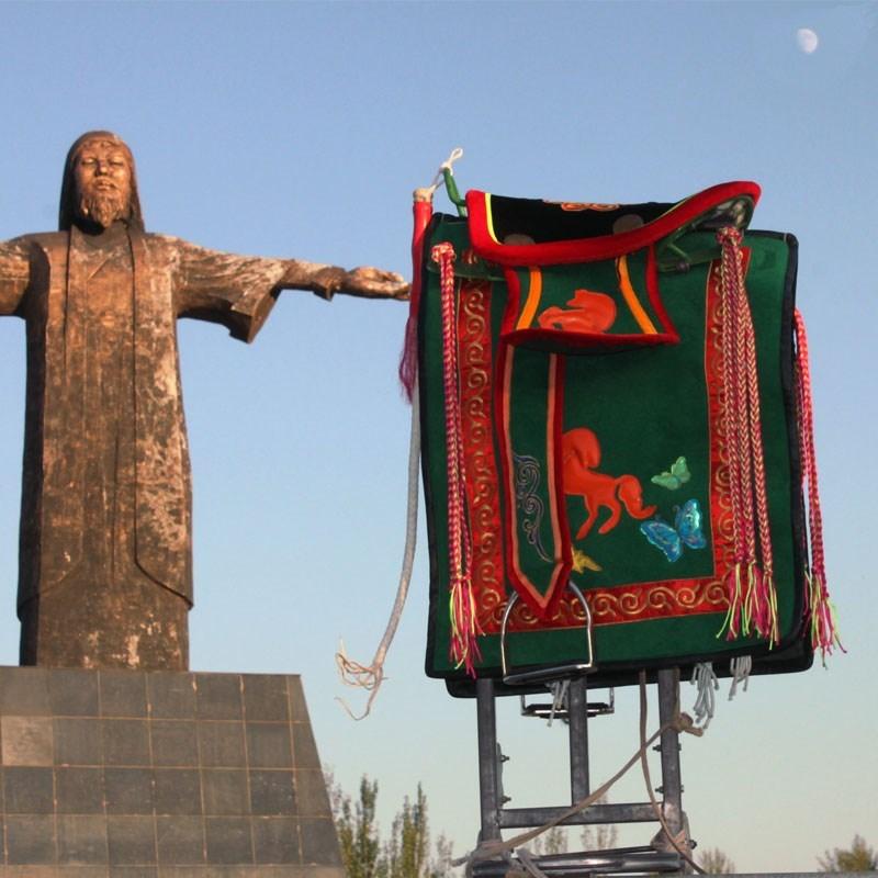 Монгольская ткань ручная работа Вышитые седла аксессуары для седла полностью Наборы с народной верховой ездой