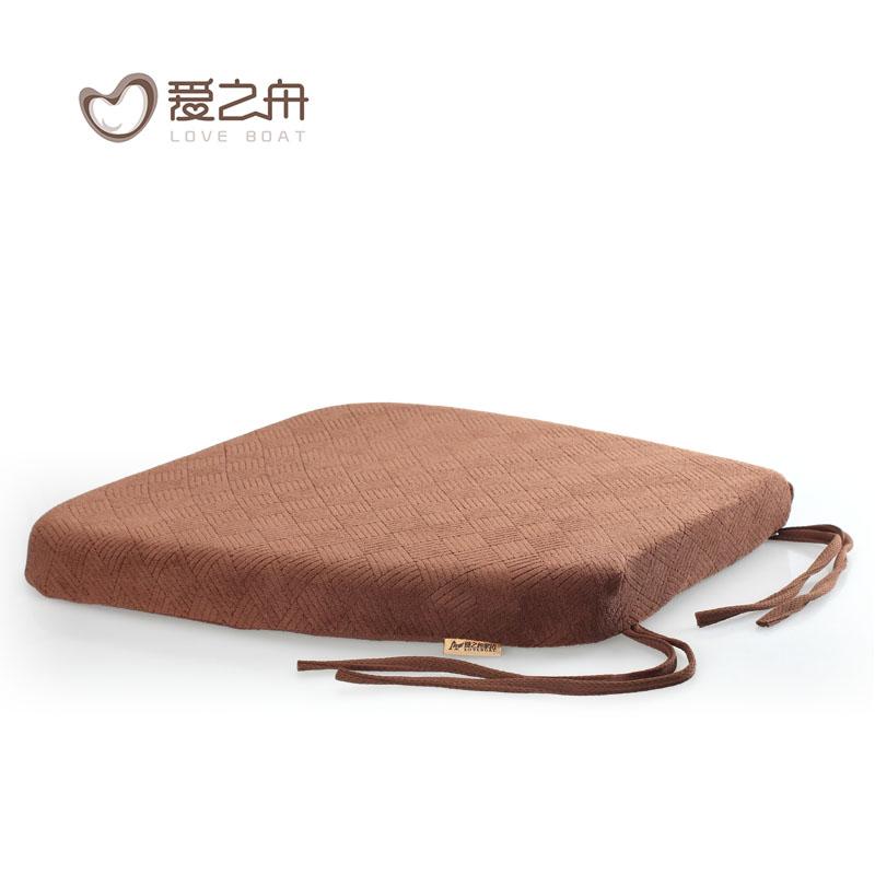 爱之舟防滑椅垫椅子坐垫座垫记忆棉餐椅坐垫慢回弹餐椅垫坐垫餐桌