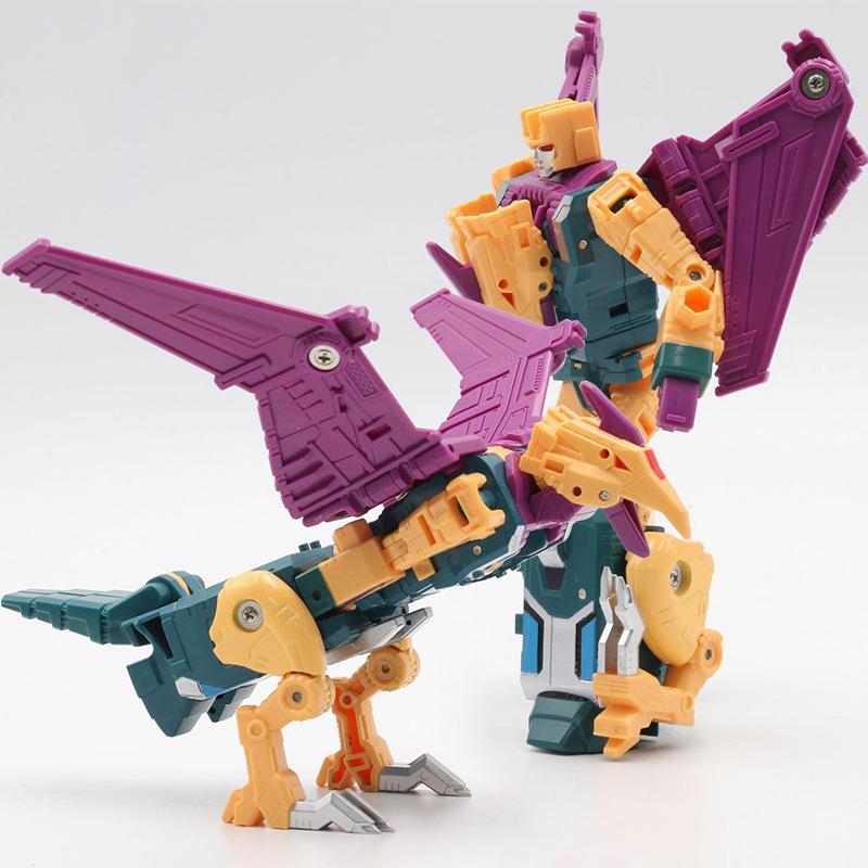 奥意求雨鬼鸟 变形玩具金刚 鬼鲨H6002 合体机器人模型 天元之力