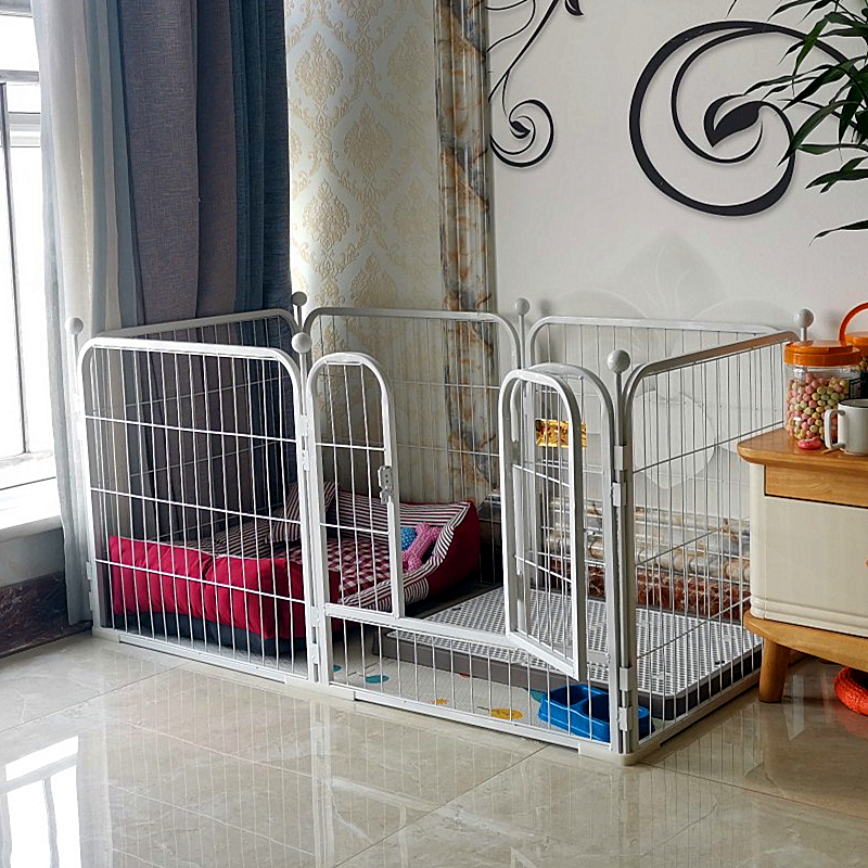 狗围栏泰迪室内小型犬中型犬金毛大型犬狗狗笼子小狗宠物兔子栅栏图片