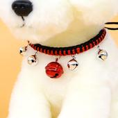 狗铃铛项圈泰迪小型犬专用狗狗小铃铛喵咪铃铛超响可爱宠物项圈