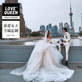 LOVE QUEEN上海本地婚纱摄影海景婚纱照私人定制结婚照团购工作室