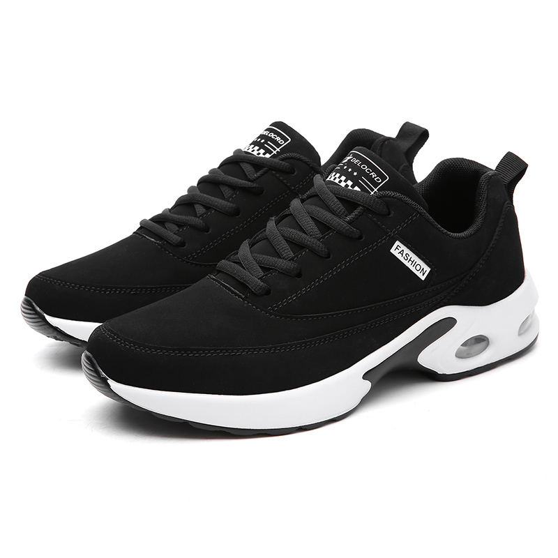 Sports shoes mens basketball mens leather shoes mens casual soft soles with air cushion and good air permeability mens shoes in summer