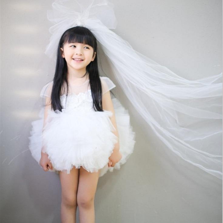 韩国正版童装女童连衣裙生日公主裙
