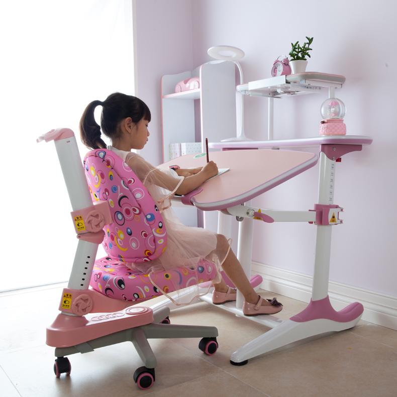 艾学儿童学习桌椅可升降家用幼儿园儿童书桌写字桌小学生现代简约