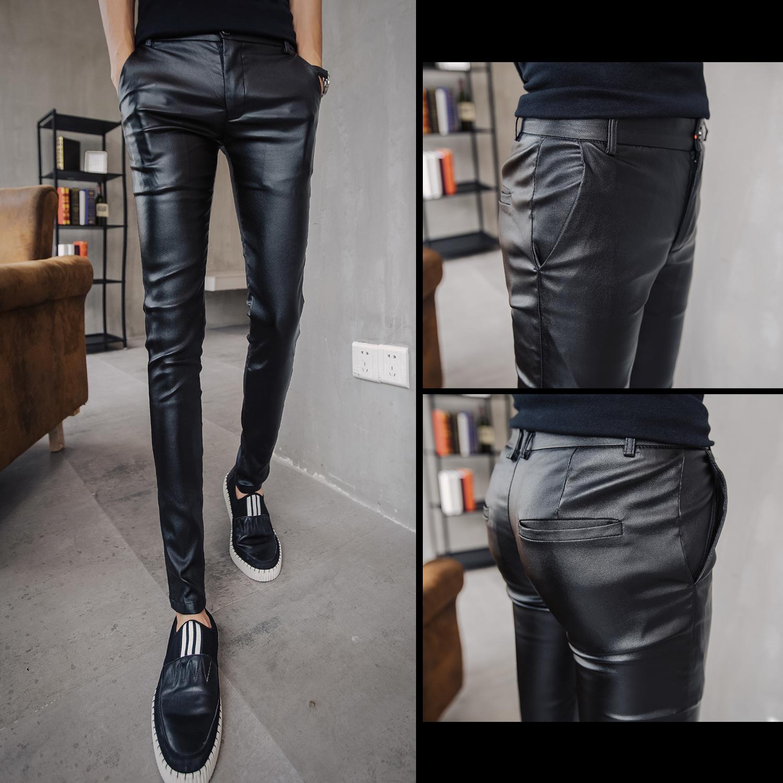 Кожаные брюки Артикул 575323989411