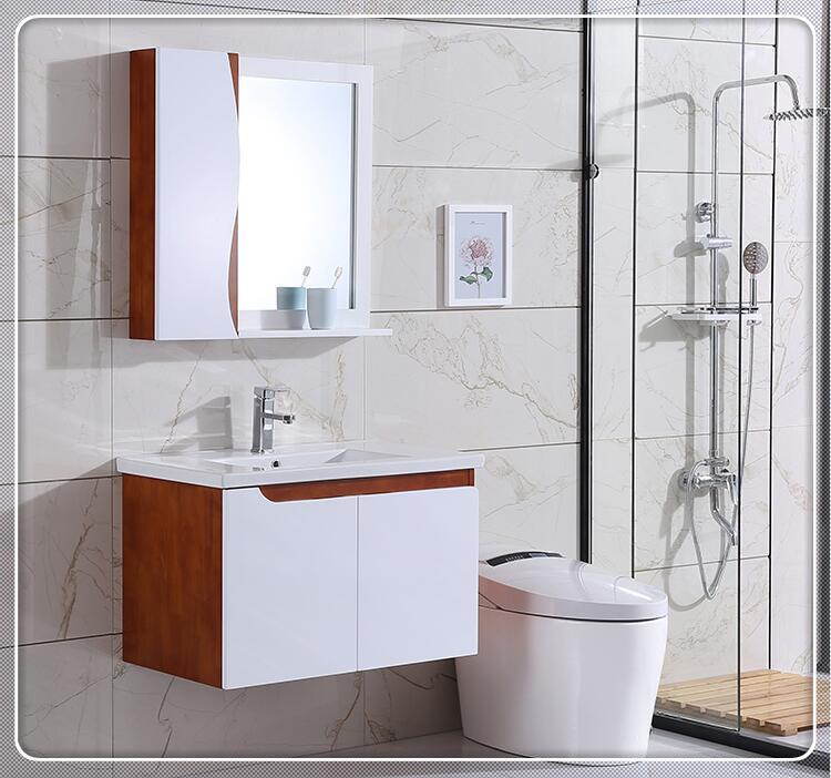 券后100.00元现代简约欧式橡木组合吊柜浴室柜