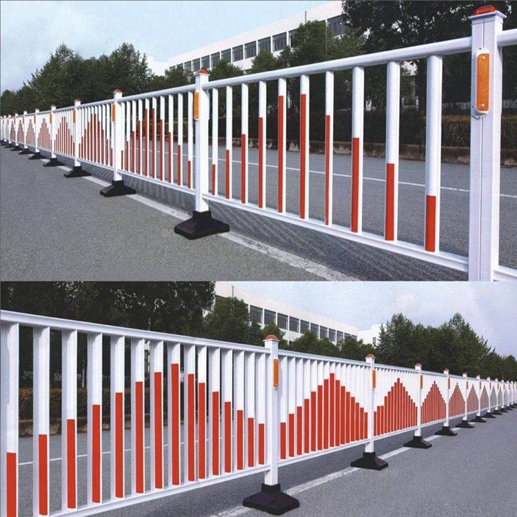 新护栏栏人行道绿化防撞工地交通挡板京式道路围栏杆设施隔离。乡