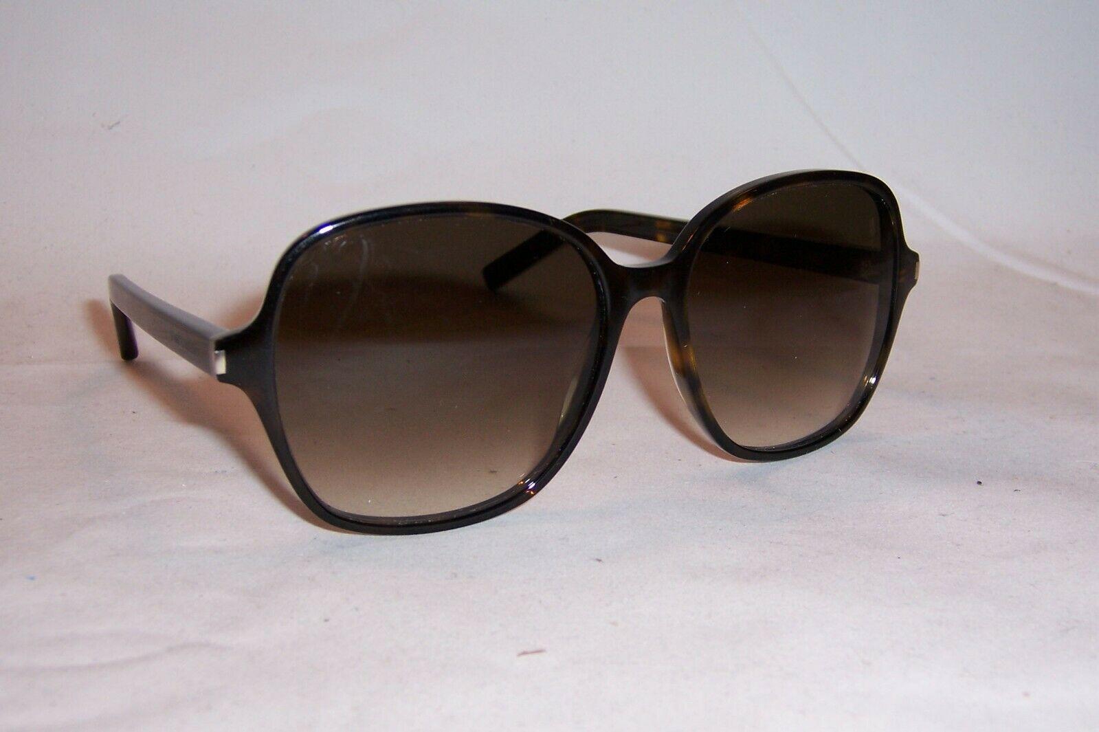 Saint Laurent玳瑁色棕色经典太阳眼镜墨镜SL 8 004