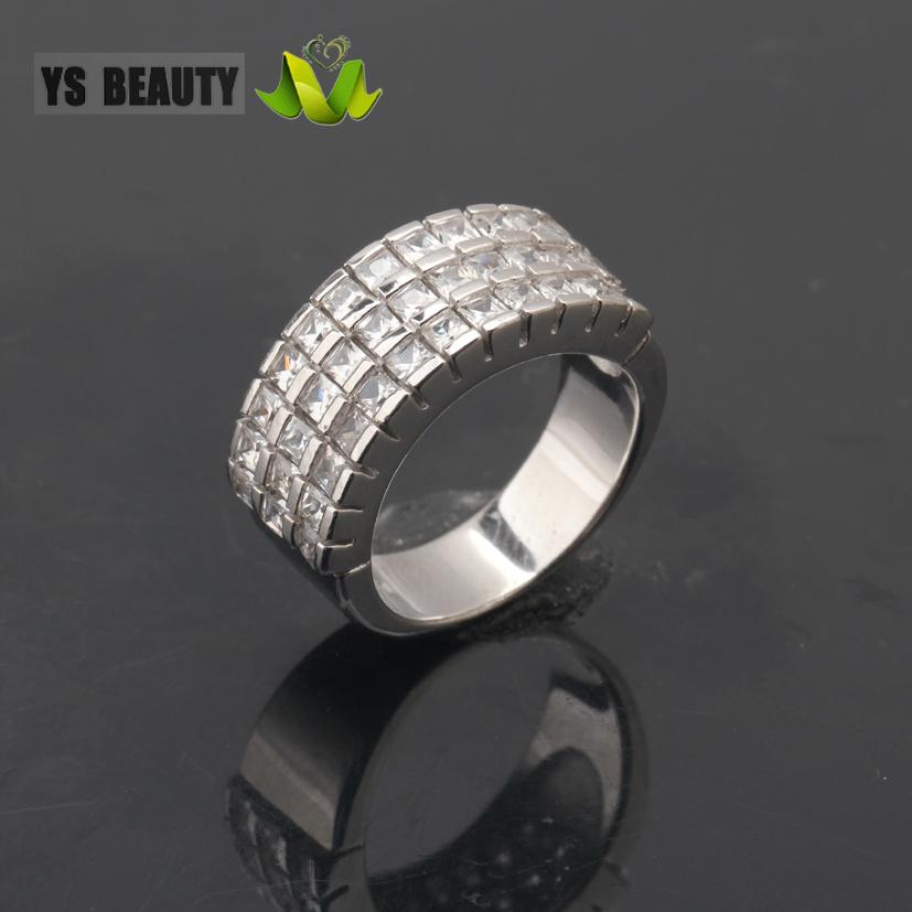 925纯银手工镶嵌宝石戒指时尚女孩百搭服饰搭配首饰生日小礼物
