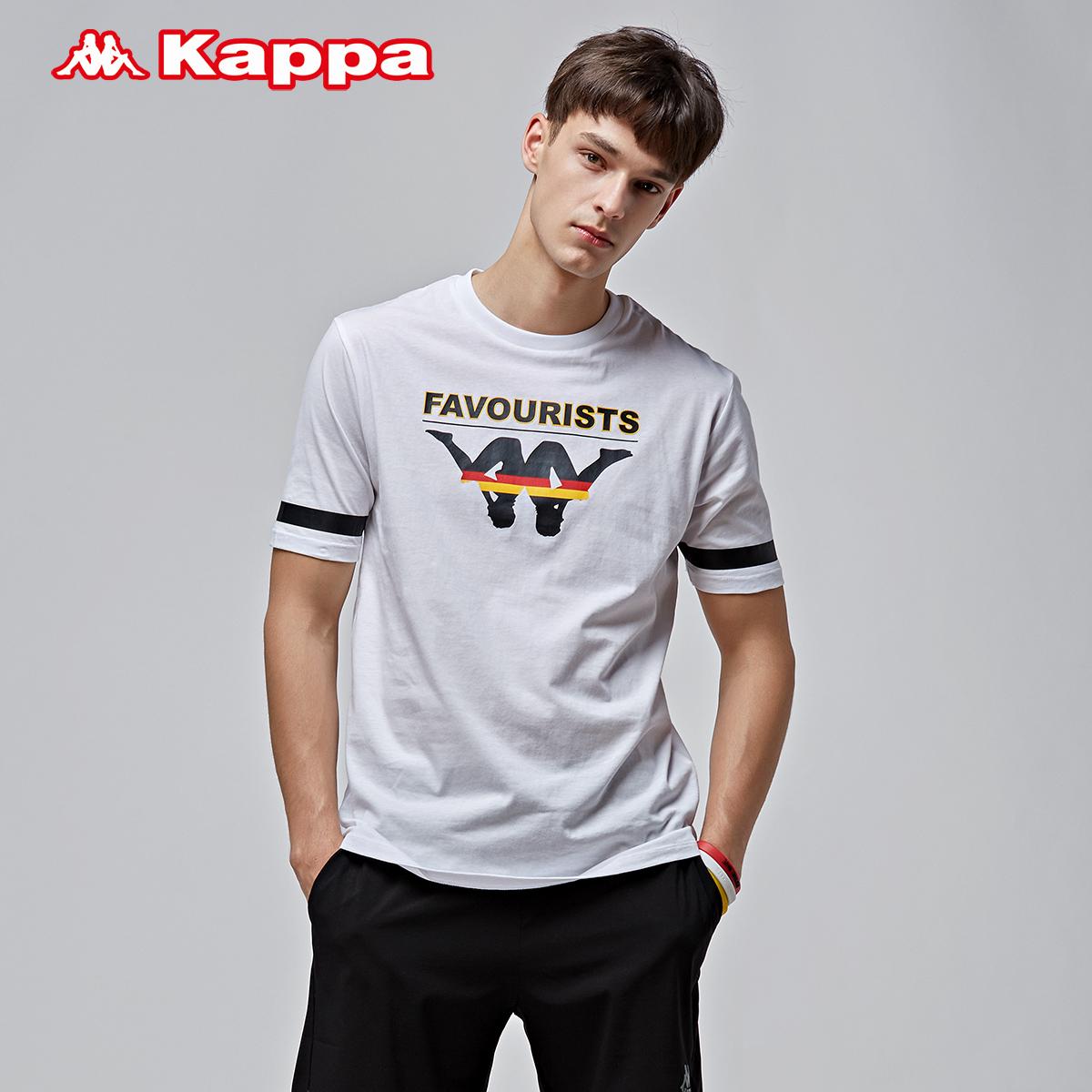Kappa卡帕男款运短袖 休闲T恤2018新品|K0812TD13H
