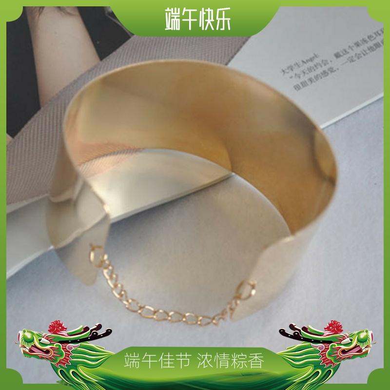 欧美镜面链条手镯 电镀精品光面手链 时尚手环简约御女风格款1041