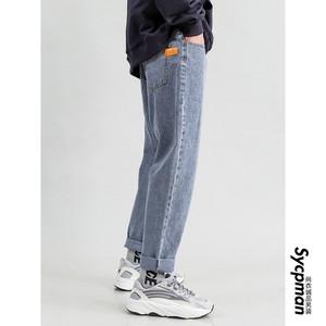 穿上不好看都难 经典基础斜纹面料牛仔裤男潮牌长裤牛崽尚衣诚品