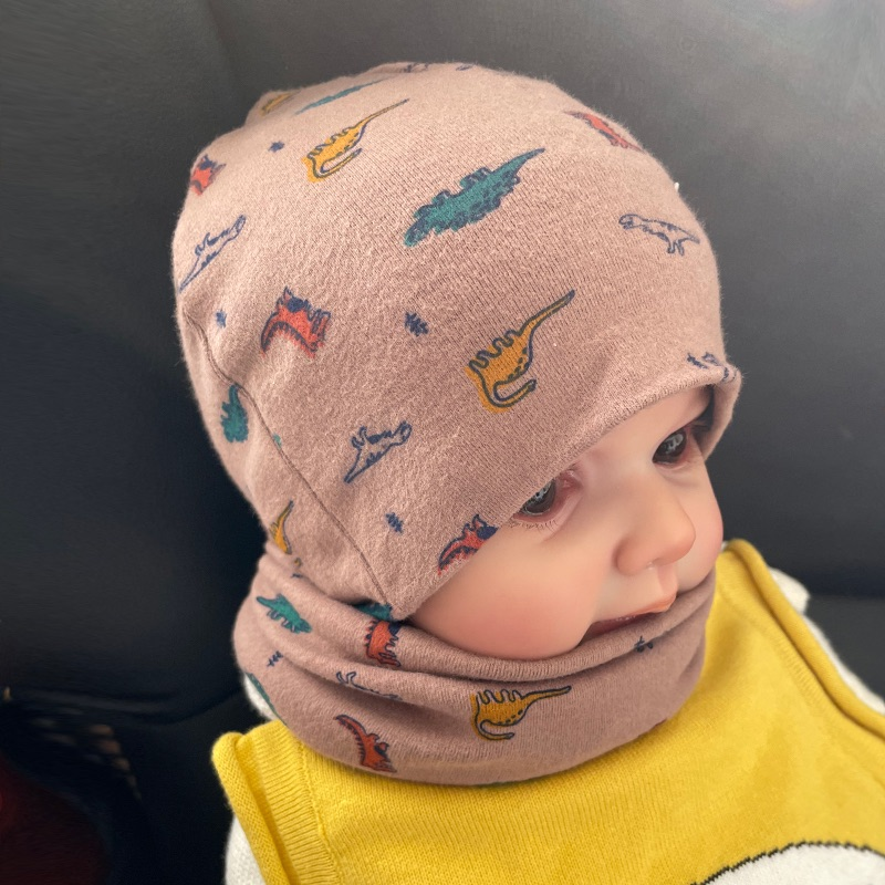 Baby Bib cover head autumn winter pure cotton childrens scarf boys and girls baby warm childrens scarf neck cover