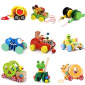 3岁 拖拉学步玩具拉车拉拉绳拉线玩具车婴幼儿童手推车宝宝玩具1