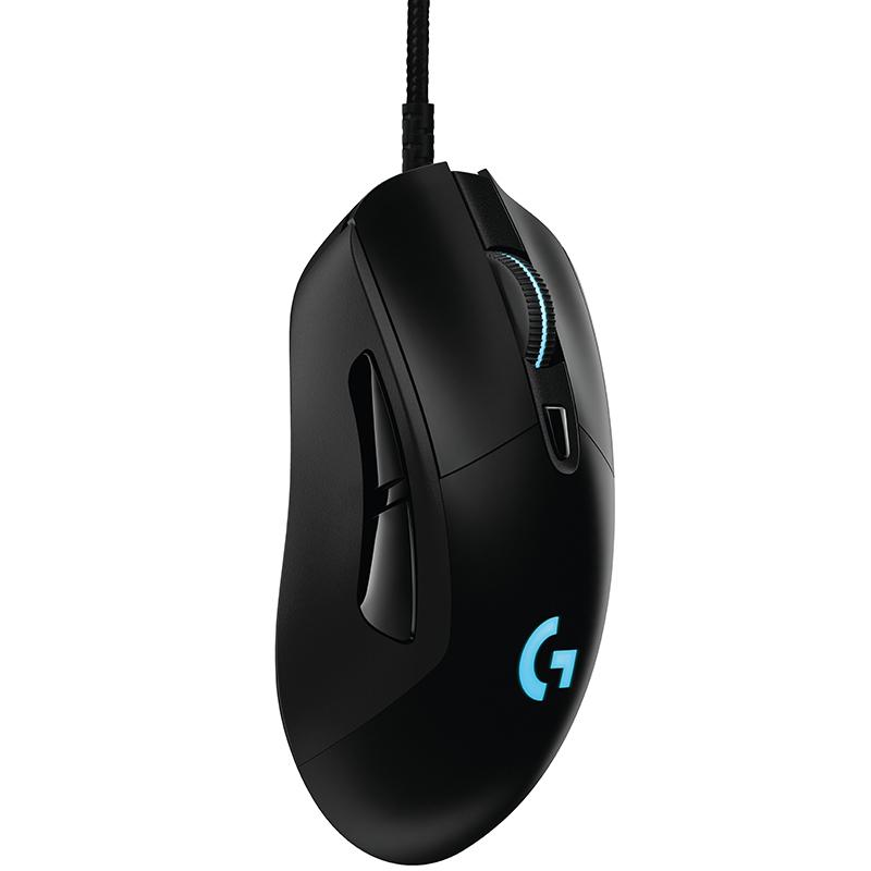 罗技G403 有线/无线双模游戏鼠标宏编程RGB英雄联盟G502/G900同芯