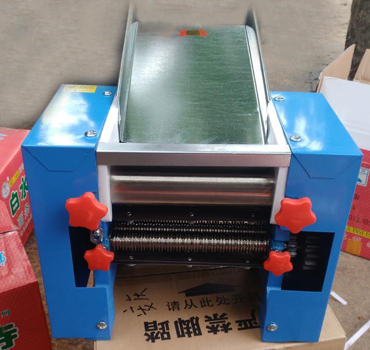 面馆用白水寺有不锈钢小型压面条机