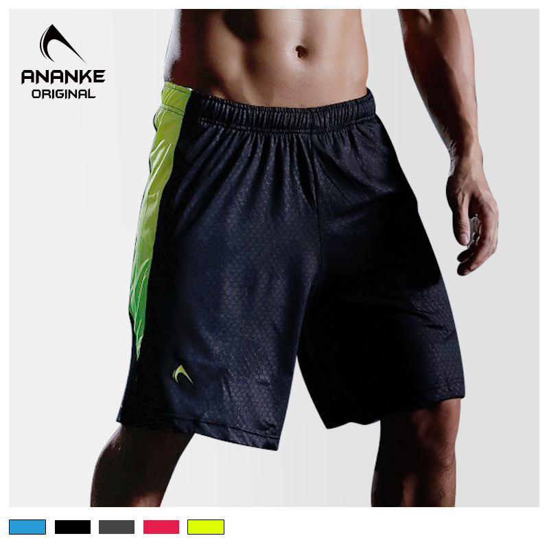 Ananke sports pants breathable quick dry running fitness pants mens summer sports shorts basketball training pants loose running