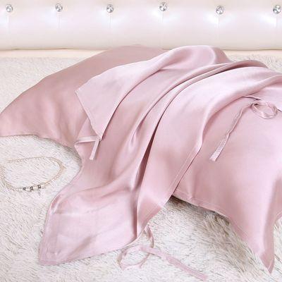100%桑蚕丝枕巾真丝枕巾重磅真丝枕头巾蚕丝枕巾单只包邮真丝床品
