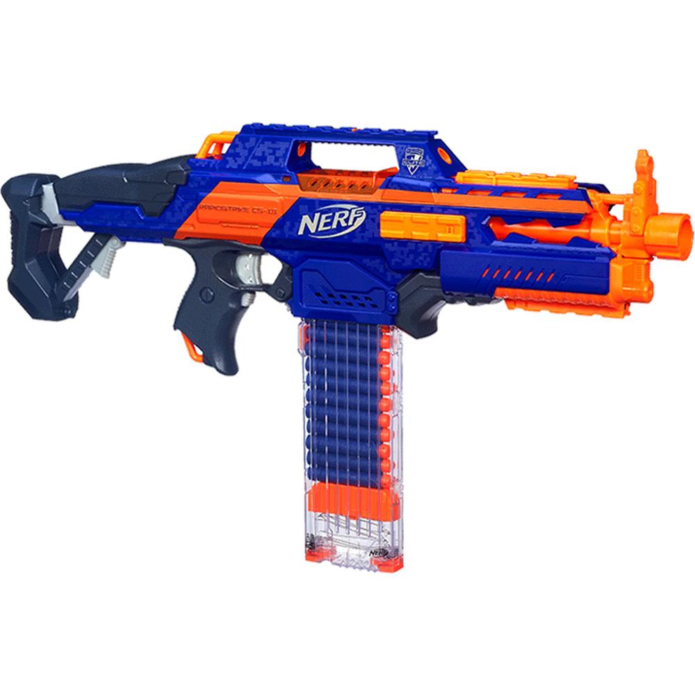 孩之寶 NERF 熱火 精英 超凡CS18 發射器男孩軟彈玩具槍