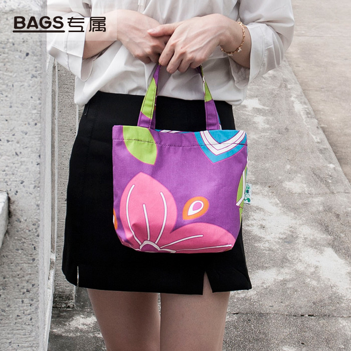 [buy one get two] Mini Handbag womens handbag fabric childrens handbag shopping bag