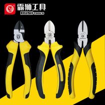 Bully Slant Clamp Shear Line clamp deflection pliers slant Nozzle clamp wire shears Electrical pliers slant cut 6 inch