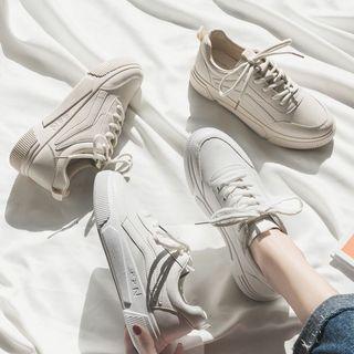 新品冬季奥伦女鞋平底简约百搭低帮鞋ins超火休闲运动板鞋小白鞋