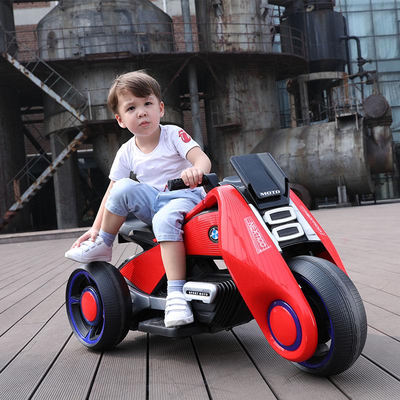 儿童电动摩托车三轮车