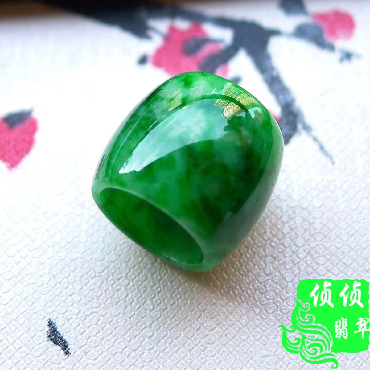Паспарту полный зеленый изумруд A товары подвески шея украшения бисер день жемчужина нефрит осень пряный зеленая вода прибыль подарки сертификат прекрасный