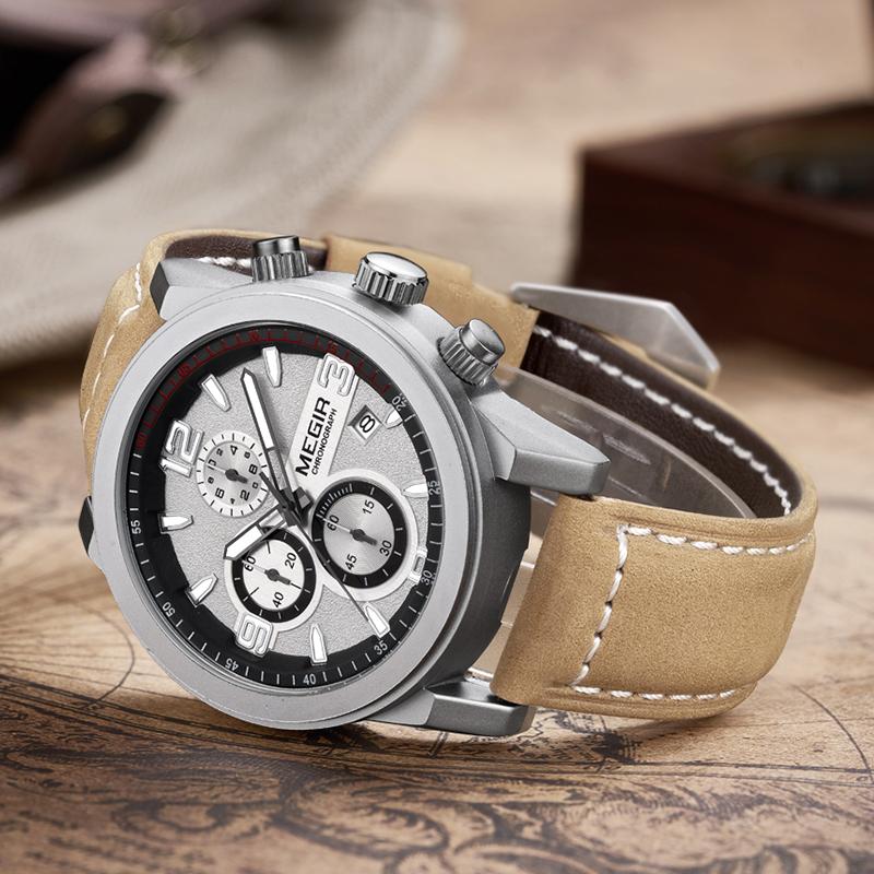 メンズベルトスポーツビジネス夜光防水男時計ブランド正品腕時計
