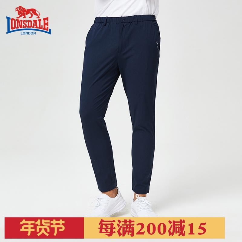 LONSDALE专柜新款速干长裤男夏季休闲裤户外运动长裤薄136208176